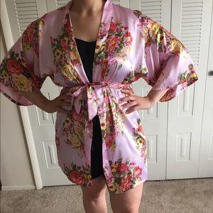 Other - M/L Silk Kimono